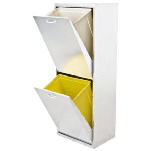 mobiletto-mobile-lamiera-raccolta-differenziata-2-cassetti-bianco