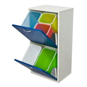 mobiletto-mobile-legno-raccolta-differenziata-interni-2-cassetti-bianco