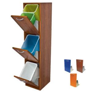mobiletto-mobile-legno-raccolta-differenziata-interni-3-cassetti-ciliegio