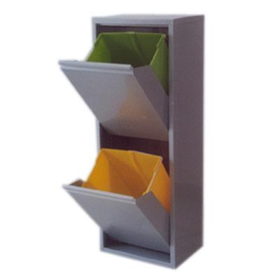 pattumiera-raccolta-differenziata-acciaio-interno-2-cassetti