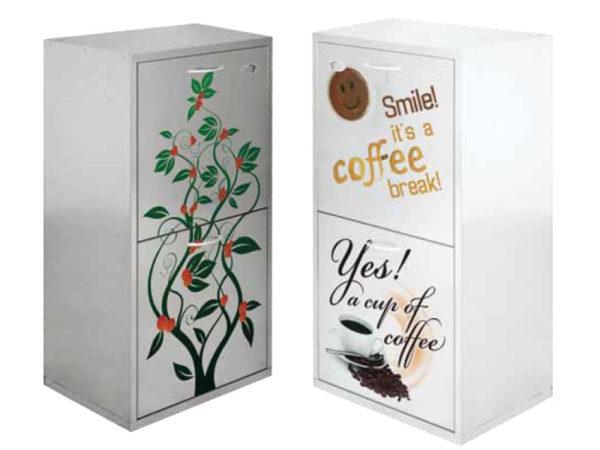 mobile personlizzato kit caffè